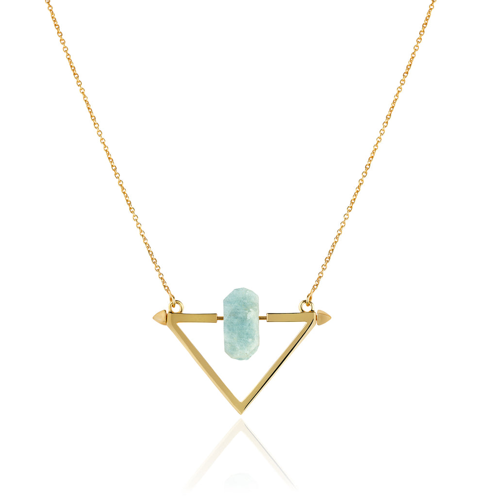 Be You, Gold Necklace (BUY GEMSTONES SEPARATELY)
