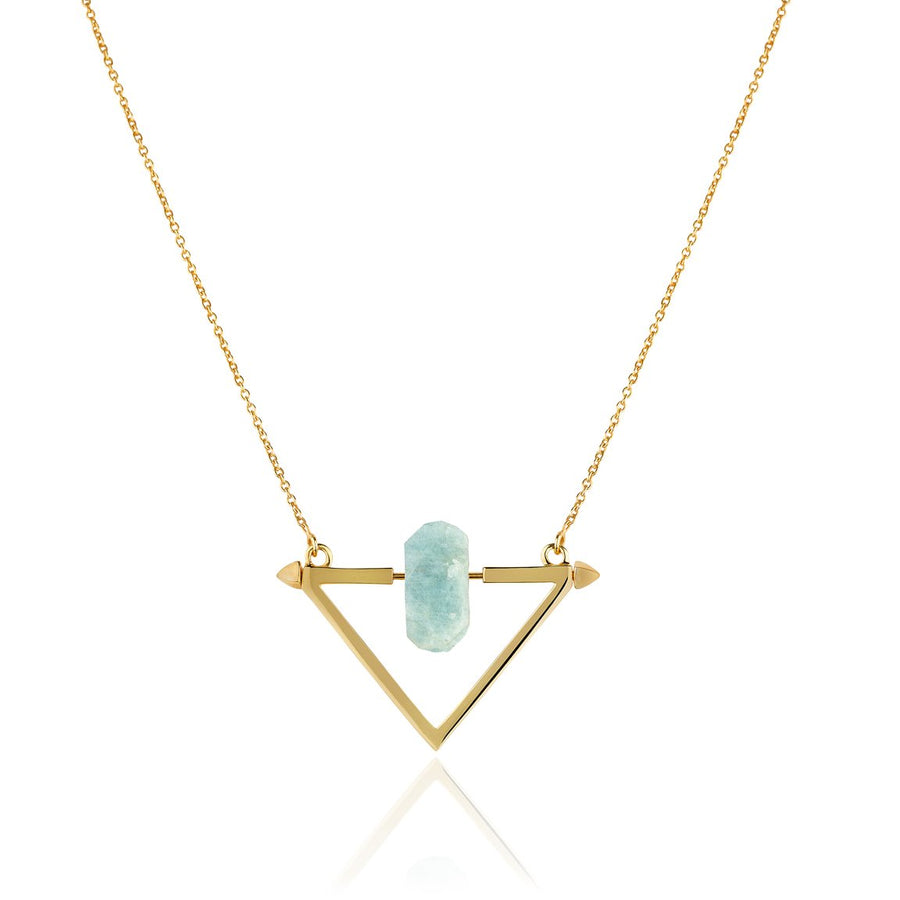 Be You, Gemstone ONLY for Necklace - Aquamarine