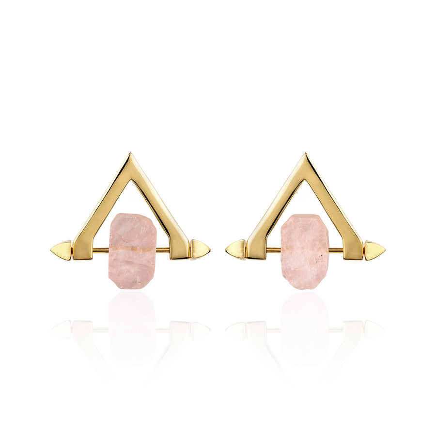 Be You, Short Gemstones for Earrings - Rose Quartz