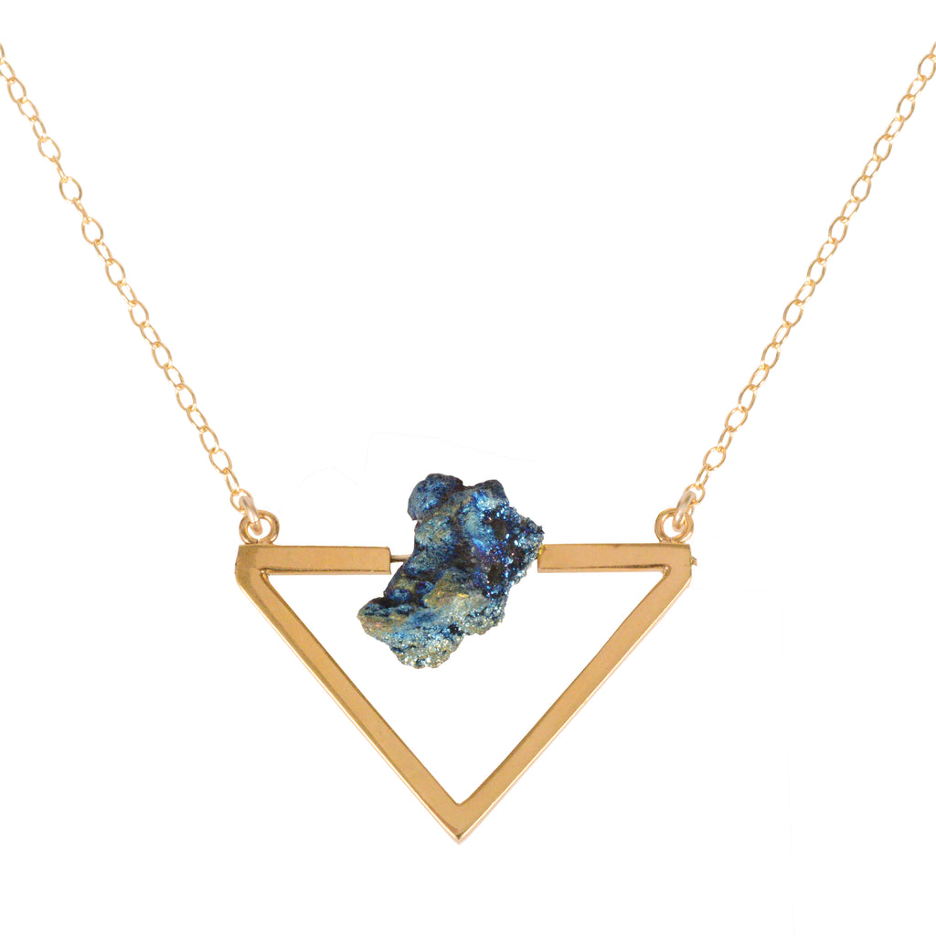 A Love From Outer Space, Gold Necklace