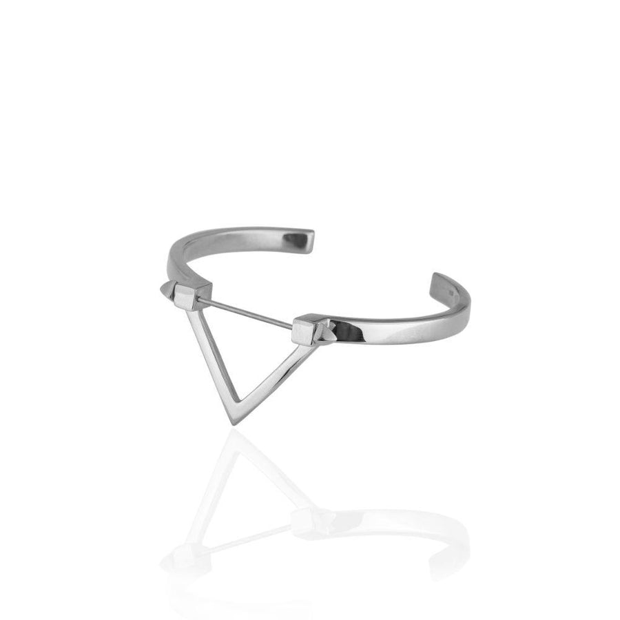 Wholesale - Be You, Silver Cuff  (BUY GEMSTONES SEPARATELY)