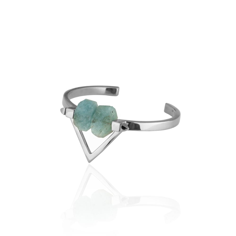 Be You, Gemstones ONLY for Cuff - Aquamarine