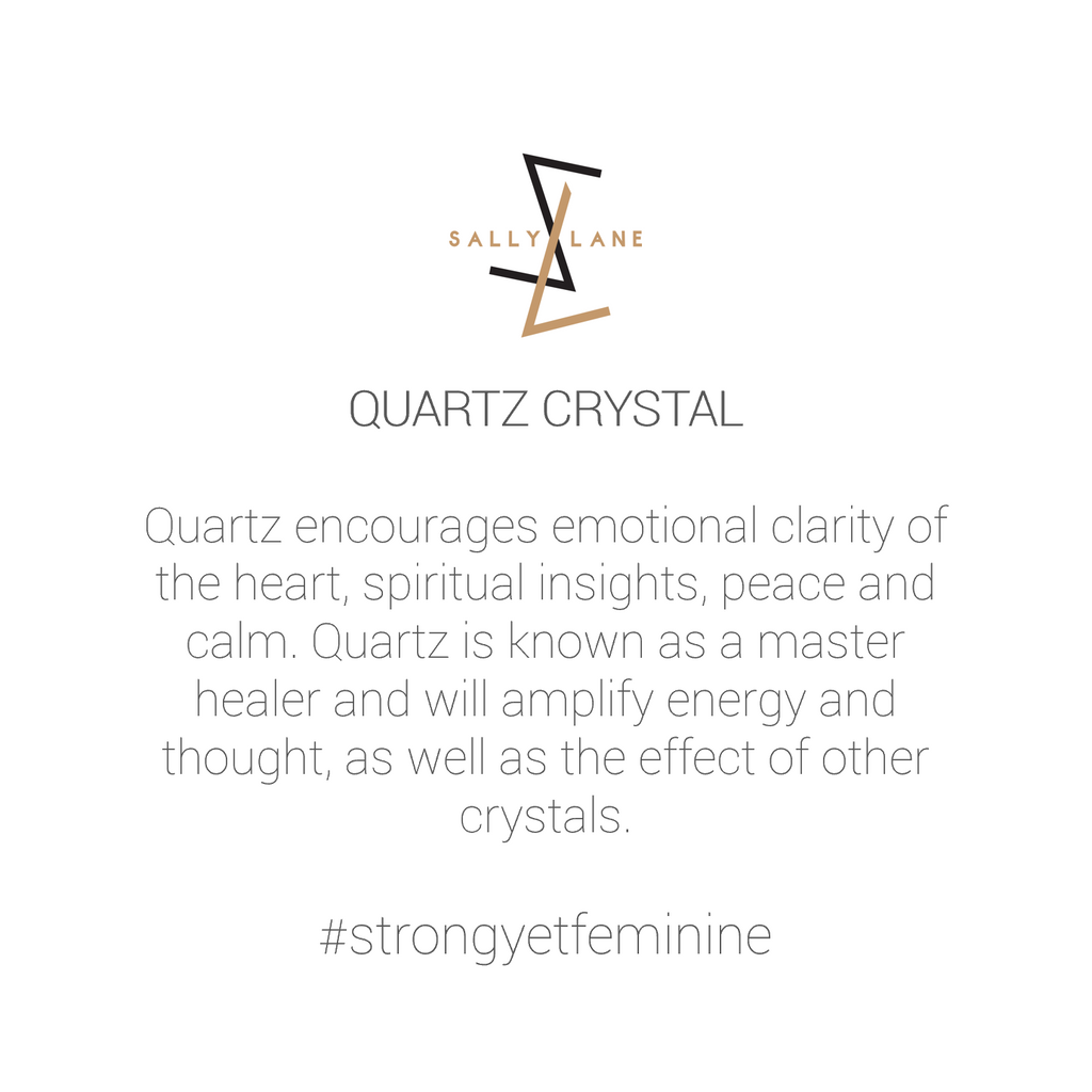 Be You, Gemstone ONLY for Ring - Crystal Quartz