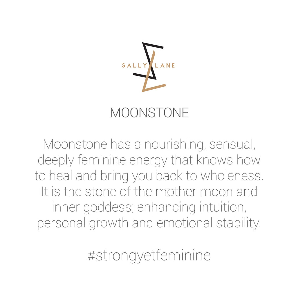 Be You, Gemstones ONLY for Cuff - Moonstone