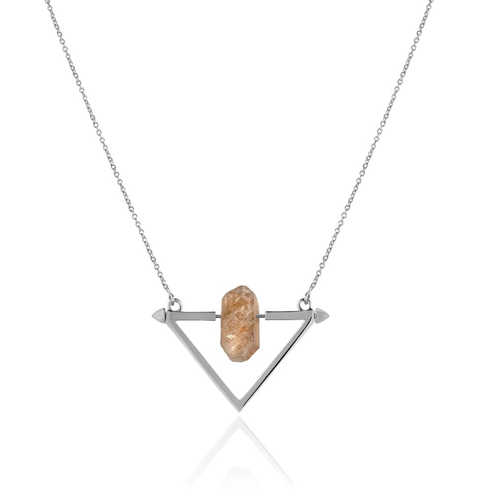 Be You, Gemstone ONLY for Necklace - Smokey Quartz