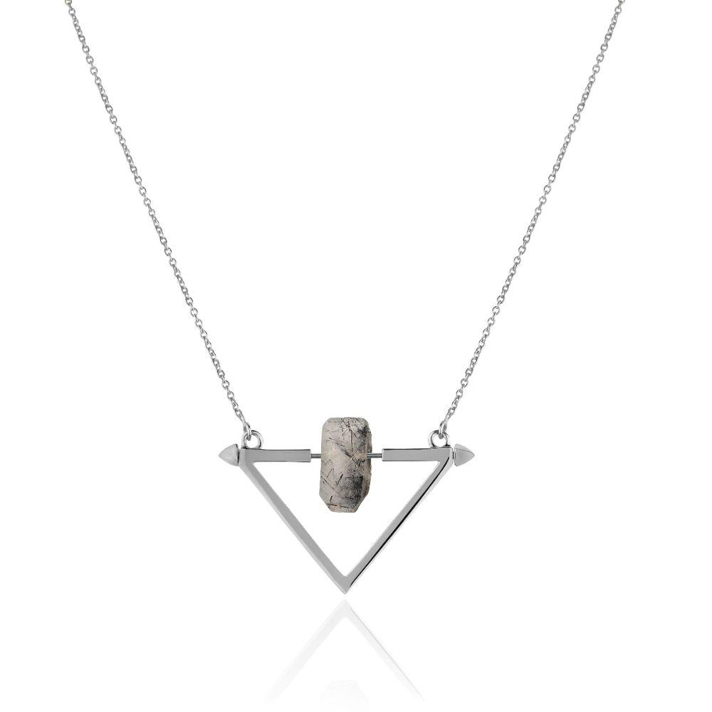 Be You, Silver Necklace (BUY GEMSTONES SEPARATELY)