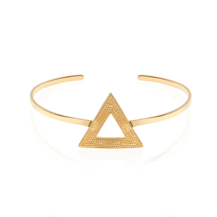 Who Says We Can't Change? Bangle/Cuff, Gold