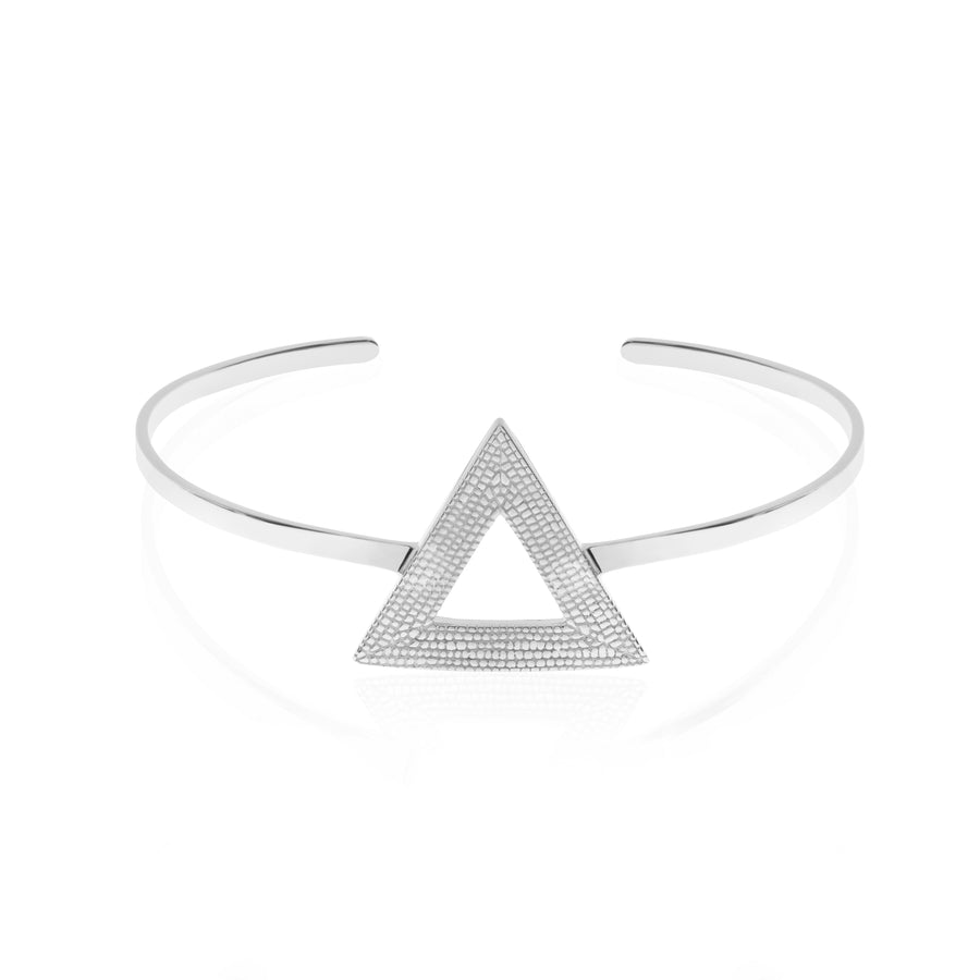Who Says We Can't Change? Bangle/Cuff, Silver