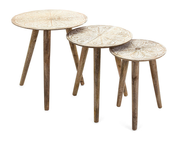 Cassel Round Tables - Set of 3