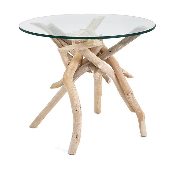 Classy Wood Drift Accent Table