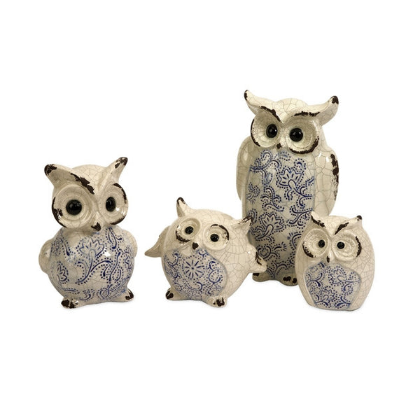 The Knight-Owl Family - Set of 4