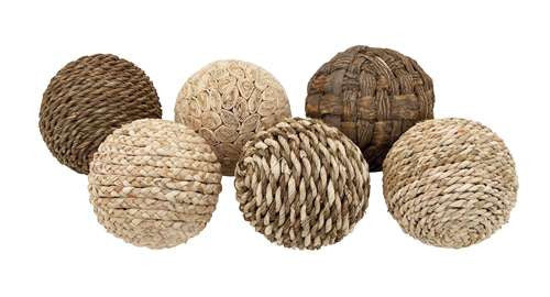 Decorative Ball - Set of 6