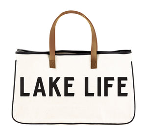 CANVAS TOTE - LAKE LIFE