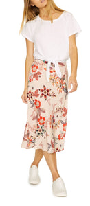 SANCTUARY DESERT FLORAL EVERYDAY MIDI SKIRT