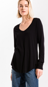 MICRO MODAL SOFT LONG SLEEVE TOP