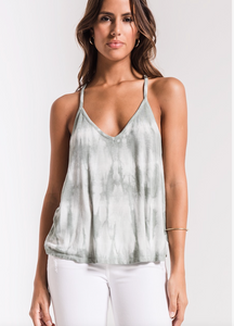 THE TIE-DYE STRAPPY TANK