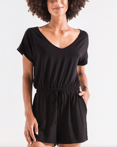 THE BLAIRE SLEEK JERSEY ROMPER