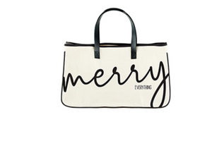 MERRY EVERYTHING TOTE