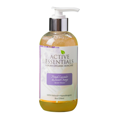 French Lavender & Sweet Orange Body Wash