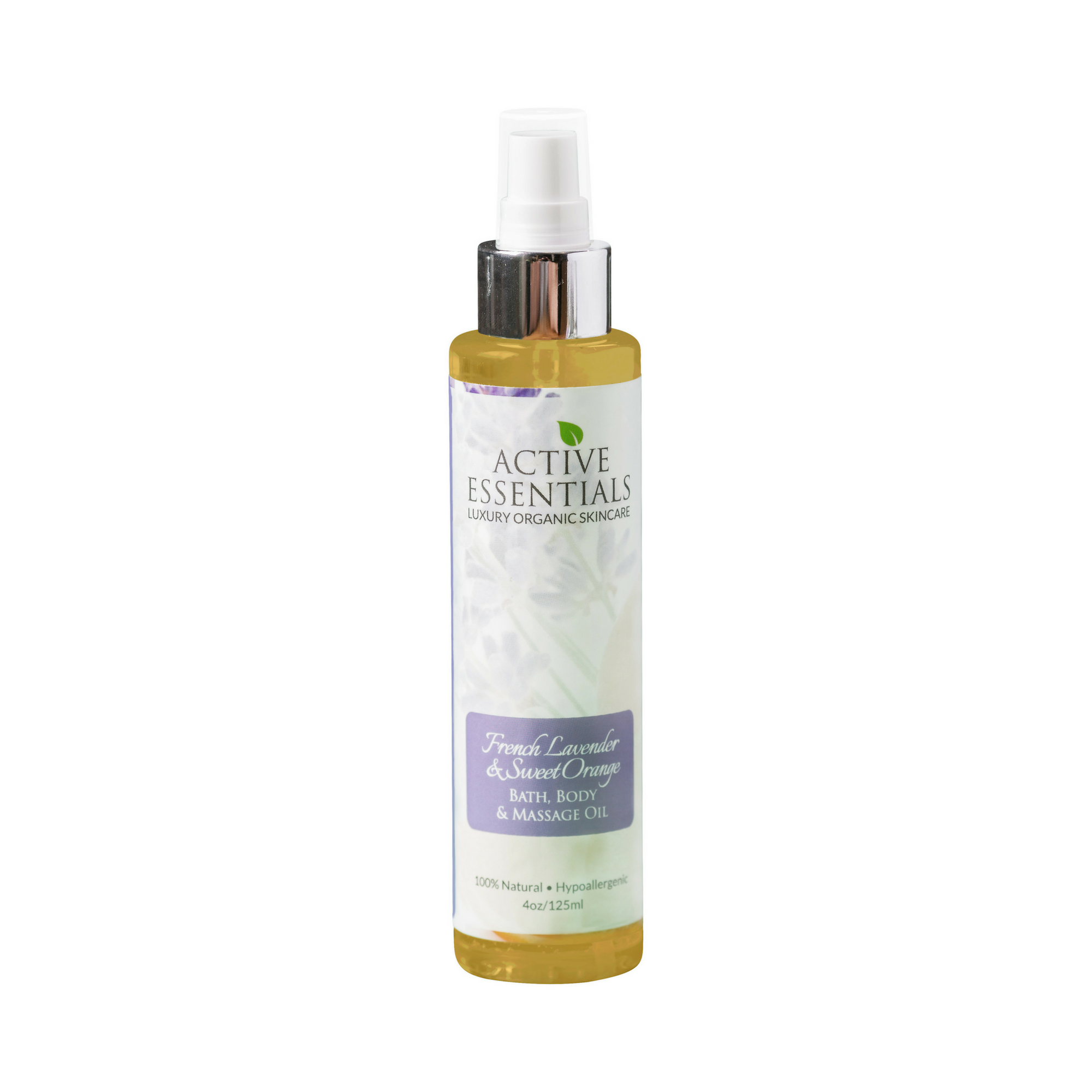 French Lavender & Sweet Orange Moisturizing Body Oil