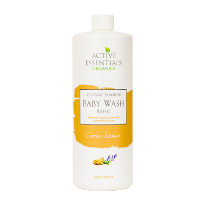 Organic Foaming Baby Wash- Citrus Sunset