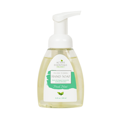 Organic Foaming Hand Soap- Fresh Mint