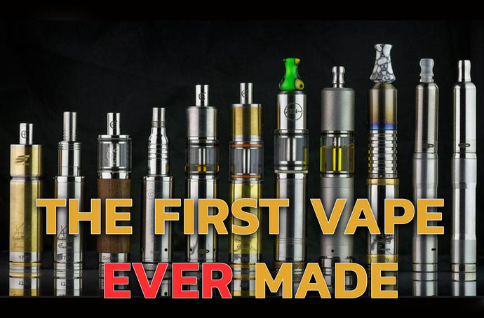 The First Vape Ever Made