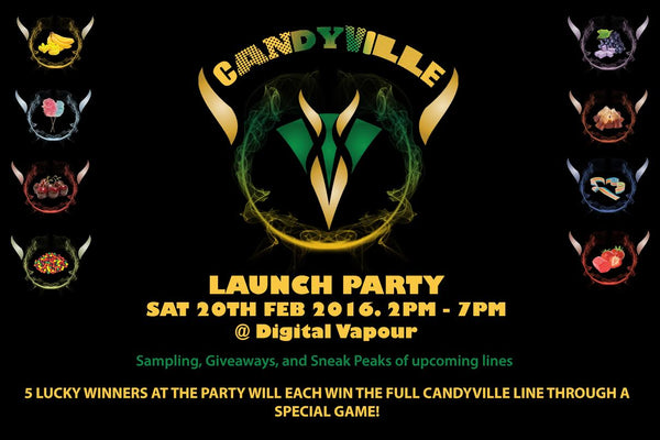 CandyVille Release Party