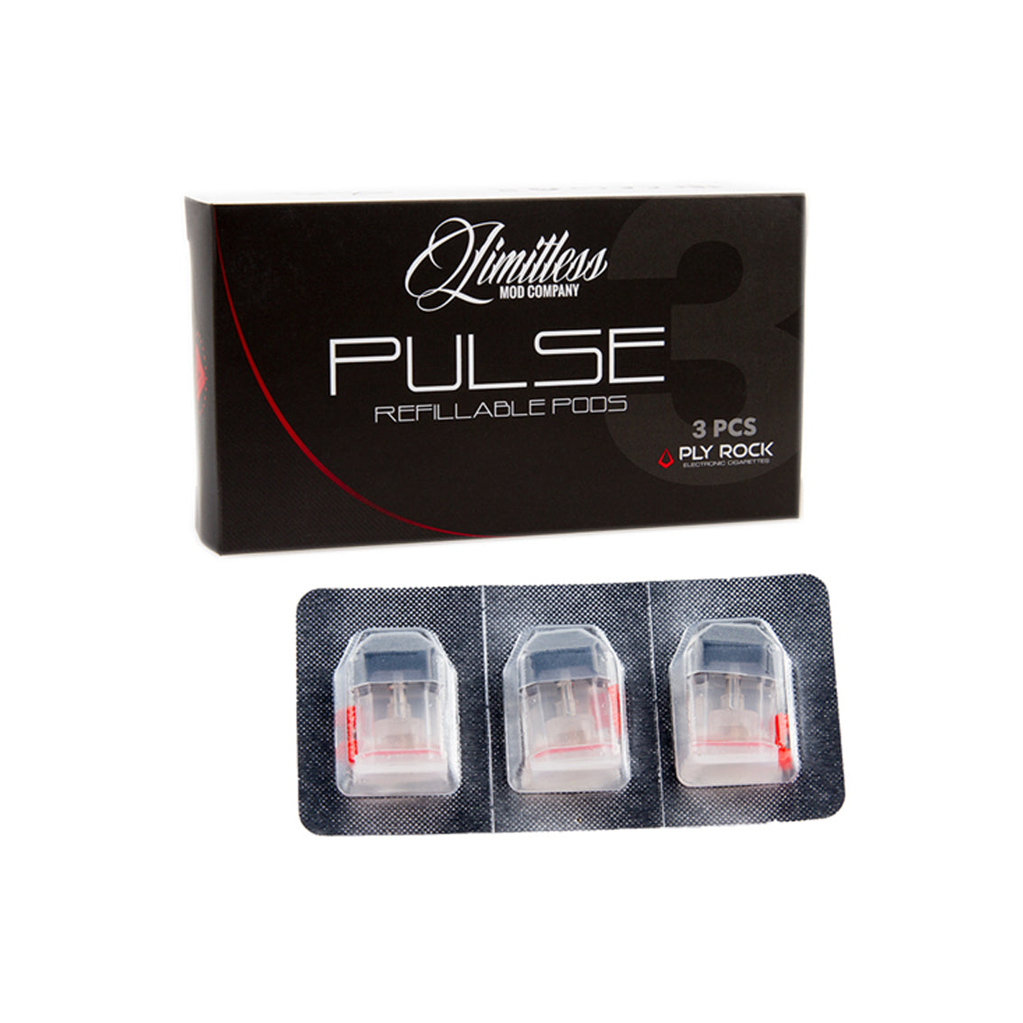 Limitless Mod Co Pulse Pod Vape Pen Coil Pack
