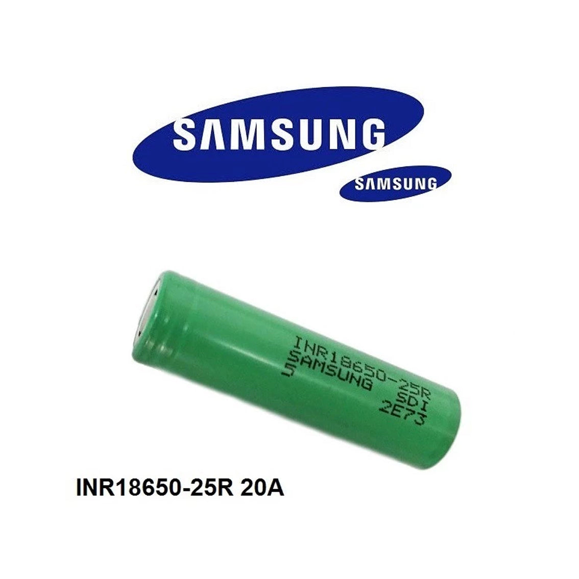 Samsung INR 18650 - 25R 2500mAh 20A Battery
