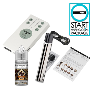 Start Vaping Pack - Salt Nic Vape w/Free e-Juice (BC Compliant)