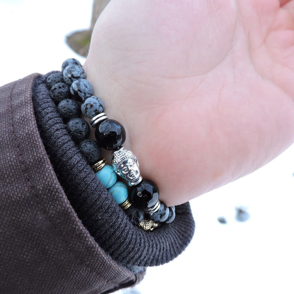 Emotional Rebirth Lava Stone Bracelet