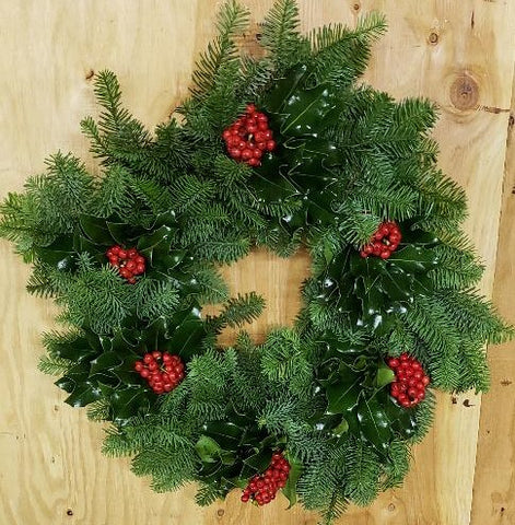 16G - GREAT AND NOBLE - Noble Fir Wreath