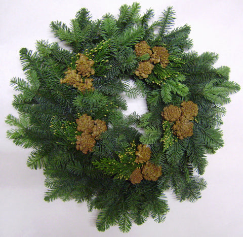 16P - PARADE - Noble Fir Wreath