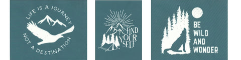 Ready-To-Use Stencils: Outdoors/Adventure