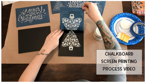 DIY Screen Printing Process Videos