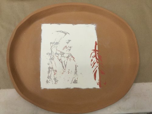 DIY Silk Screening on Ceramics