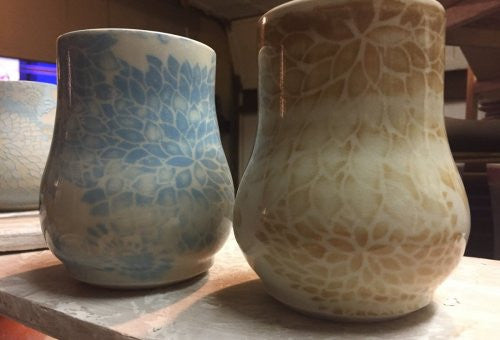 DIY Screen Printing for Ceramic Pottery