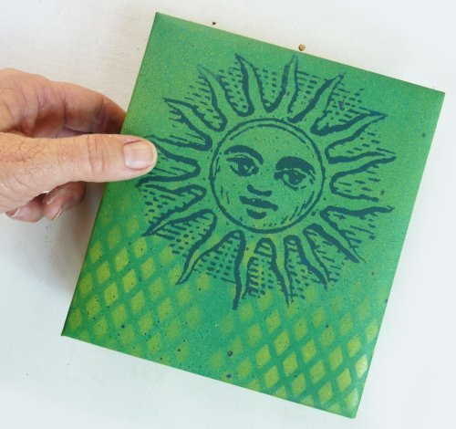 DIY Personal Screen Printing Stencils for Paper Cards