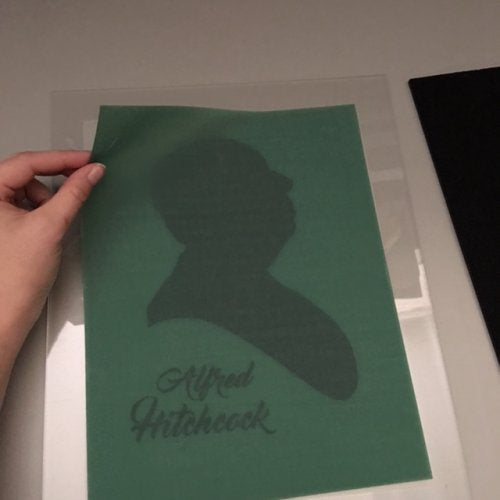 DIY At Home Screen Printing Stencils