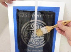 DIY Screen Printing At Home Supplies