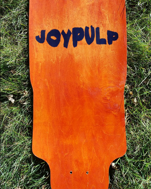 DIY Custom Screen Printed Longboard Deck