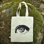 DIY silk screen printed t-shirts & totebags