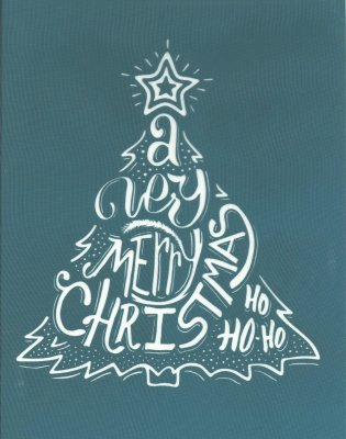 DIY Silk Screening Christmas Tree Design Stencil