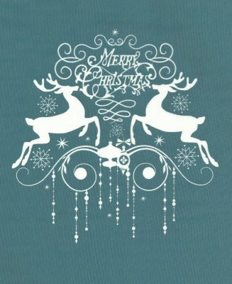 DIY Christmas Design Silk Screen Stencil Reindeer
