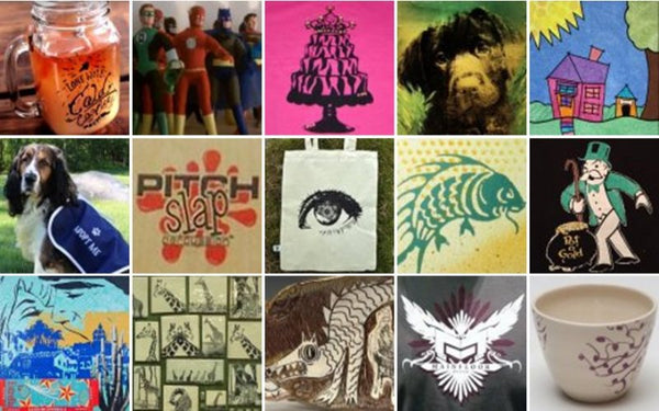 DIY Screen Printing Customer Showcase