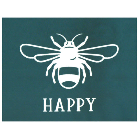 DIY Screen Printing Silkscreen Stencil, Bee Happy Design
