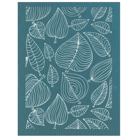 Artistic Leaves Design Ceramic Screen Printing Stencil