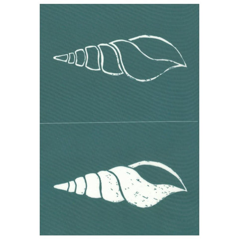 Ready To Use Silkscreen Stencil Tulip Shell Design