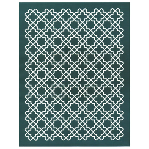 DIY At Home Silk Screen Print Stencil, Arabian Style Pattern
